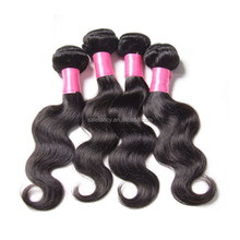 Top sell virgin and aliexpress brazilian hair extension QHHE-5042