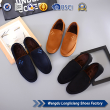 ODM Service cotton fabric shoe pu upper material for men
