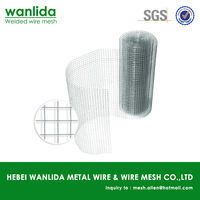 Anping factory g.i.welded iron wire mesh 50x50 specifications ( SGS )