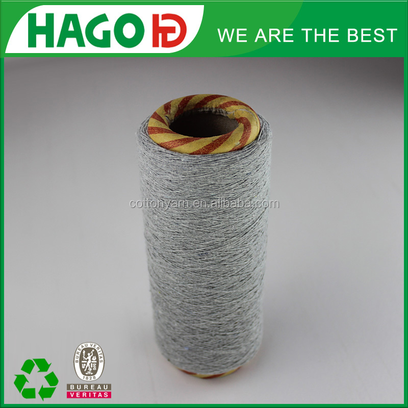 ne 18s/2 regenerated open end cone yarn for knitting machine