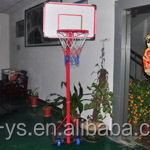 New style simple and easy sport style plastic basketball stands for kids
