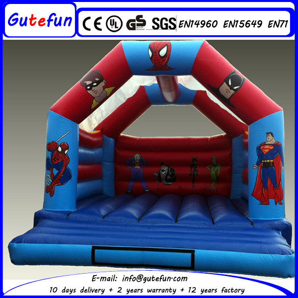 corporate events inflatable batman jumping castle