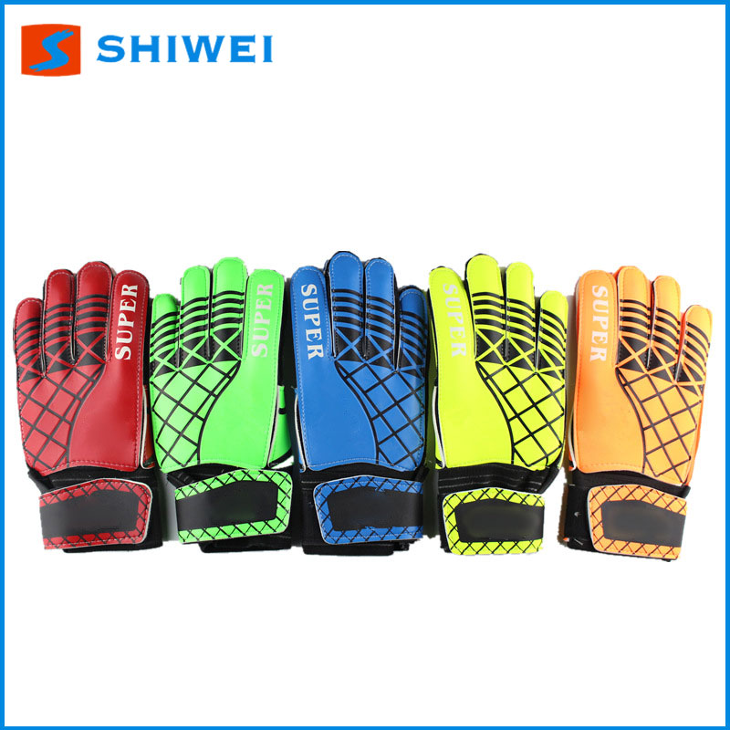 latest SHIWEI-811# football keeper gloves rinat goalkeeper gloves in stock