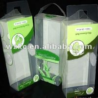 Eco Friendly Clear Plastic Macaron Packaging