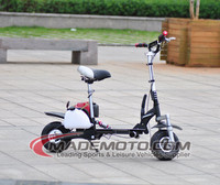 4 stroke 38cc gas powered scooter with hydraulic suspension