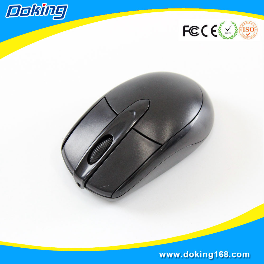 Customized logo slim wired computer mouse