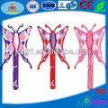 Inflatable PVC Stick in Butterfly Shape