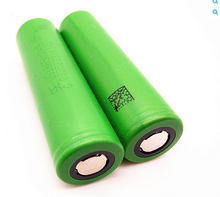Large stock of 2600 mAH rechargeable green VTC6 Grade A green Li-ion battery
