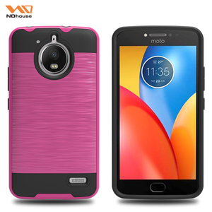 Waterproof armor back case cover for moto e4