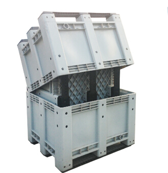 1140*980*1050mm HDPE folding container homes for vegetable and fruit storage