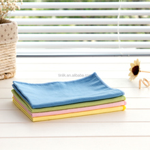 MOQ 100PCS 30*40CM Multi-functional Super Absorbent Microfiber Suede Screen Cleaning Cloth