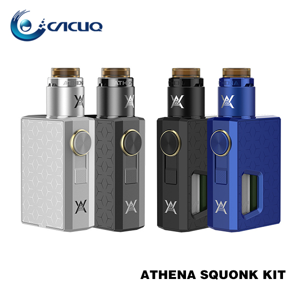 Geekvape Athena Squnonk kit Athena BF RDA new style 6.5ml built in mechanical squonk mod free sample