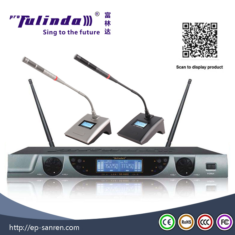 high sensitive table meeting microphone