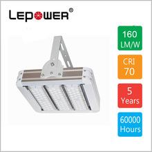 150W 160lm/w led flood light Meanwell driver IP66 5 years warranty