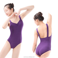 (2172J) Cotton Ballet Leotard, Cotton Leotards White, Leotards Dance Multicolored