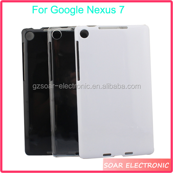 Wholesale hard pc protective table case for Google Nexus 7,pc tablet case for Google Nexus 7