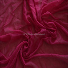 "100% polyester voile fabric width 42"" 45"" 47"" scarf supplier"