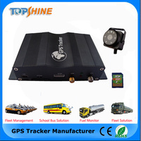 Most Powerful 3G GPS Tracker For Truck /Car With Two-way Communication RFID Fuel Level Sensor Car Alarm VT1000 3G