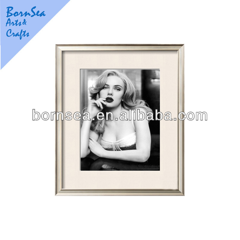 Celebrity art framed art prints frames photo wall hanging glass painting