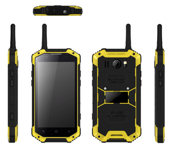 2017 Popular Android 5.1 Quad-Core 4G Rugged Smartphone, military grade phone with NFC PTT SOS rugged mobile phone
