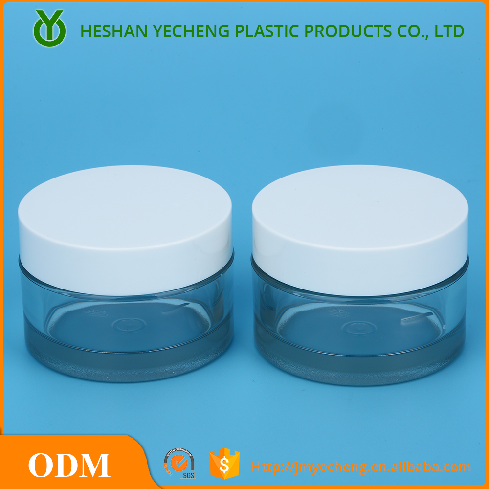 Wholesale Empty Plastic 200 ml Jar Cosmetic