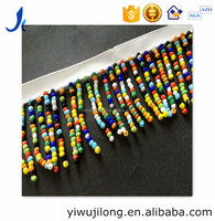 Manual nail fringe series Heavy dance skirt to wear bead the barcode