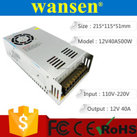 12v 40a 480w switching power supply