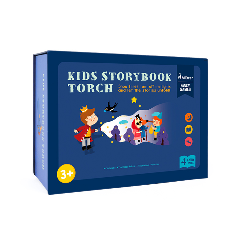 MiDeer MD1043 <strong>KIDS</strong> STORYBOOK TORCH Educational glow toys for <strong>Kids</strong> Develop Play Sleeping Stories Perform Set Child Gift