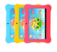 "iRULU Baby Pad Y1 7"" Tablet PC Quad Core Android 4.4 1GB/8GB ROM Kids Education Free Game Learn Grow Play With Case Gift"