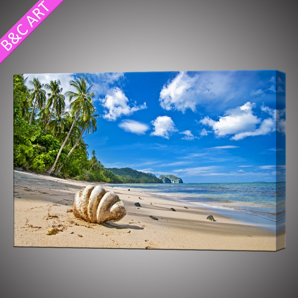 New design moderm seascape picture canvas prints custom paintings oil on canvas