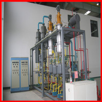 1-2Tons/day small capacity waste oil to base oil distillation plant by electrcity heat