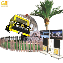 Hot Selling Newest Design Theme Park Dinosaur 4D 5D Film Dinosaur Cabin For 7D Cinema