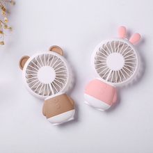 Wholesale mini air cooling rechargeable usb battery mini fan