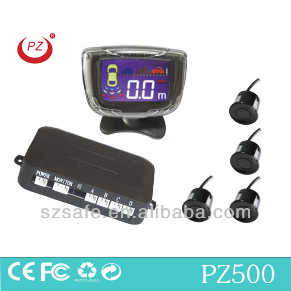 hot selling lcd pakring sensors with ultrasonic sensor waterproof and bibi sound alarm