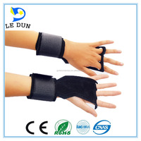 Factory wholesale Leather athletic works weight lifting glove for gym