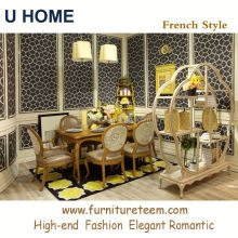 www.furnitureteem.com high end french style solid wood furniture black lacquer dining room furniture sets