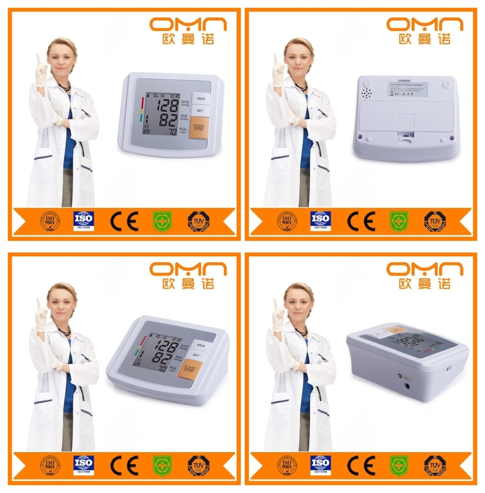 New home healthcare fully automatic blood pressure monitor apparatus machine