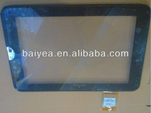 "OEM new for Toshiba Thrive AT100 AT105 Tablet 10.1"" inch Glass Touch Screen Digitizer With Bezel/frame Front Panel"