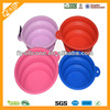metal Clip non-toxic durable Portable wholesale colorful silicone travel feeder