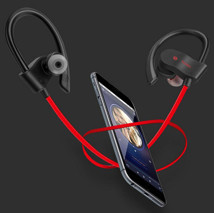 Sport Waterproof Running/Swimming/Gym Men Bluetooth Headset Earbuds With Deep Bass Stereo Sound