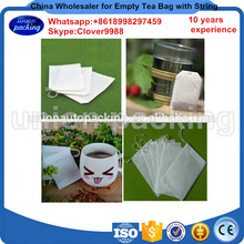 Heat sealing tea filters 80 X 100mm empty tea bag, Empty Scented Tea Bags With String Heal Seal Filter Paper