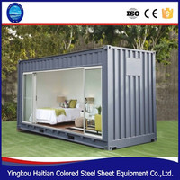 Mobile restaurant plan and container restaurant and prefabricated house design