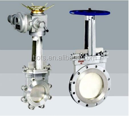 High preformance PN10/16 cast iron wafer knife gate valve pneumatic knife gate valve