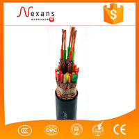 High quality pure copper or aluminum conductor power cables optical fiber wire