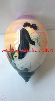 Classic Hand Painted inside glass ornaments/Chirstmas ornaments
