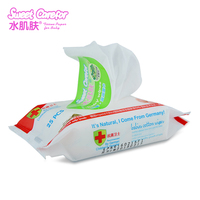 Ultra thick Soft Spunlace nonwoven fabric organic skin care baby wipes