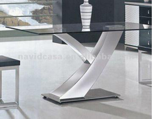 Y01 Special typical rectangle long dining table with Y word