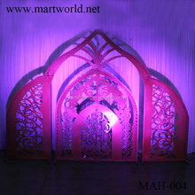 2018 Indian mandap backdrop wedding stage for wedding decoration and party decoration wedding stage (MAH-004)