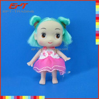 "2.5"" cheap mini doll baby doll toy"