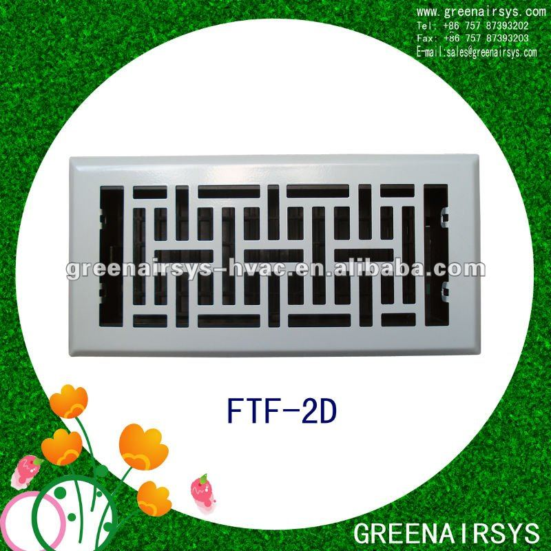 Floor Register HVAC air grille air register hot vent